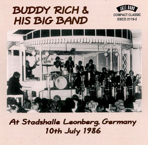 Buddy Rich & His Big Band at Stadshalle Leonberg Germany