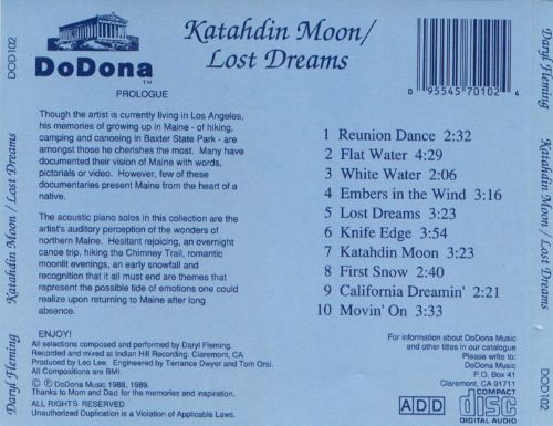 Katahdin Moon/Lost Dreams