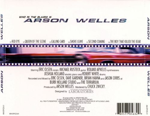 Who in the Blazes Is Arson Welles