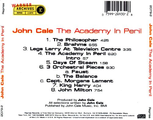 The Academy in Peril