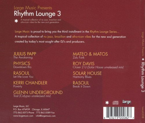 Rhythm Lounge, Vol. 3