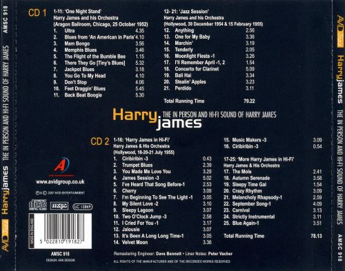 In Person/The Hi-Fi Sounds of Harry James
