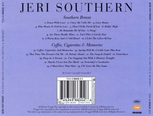 Southern Breeze/Coffee, Cigarettes & Memories