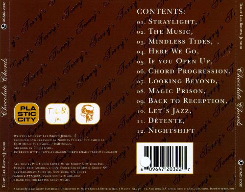 Chocolate Chords Terry Lee Brown Jr Songs Reviews Credits