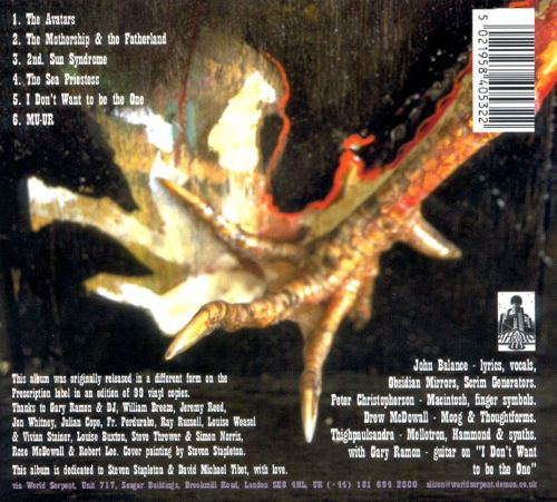 Astral Disaster [CD]