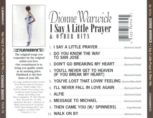I Say a Little Prayer and Other Hits