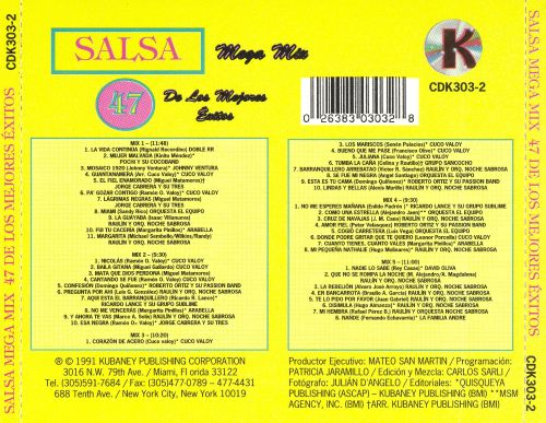 Salsa Mega Mix: 47 Exitos