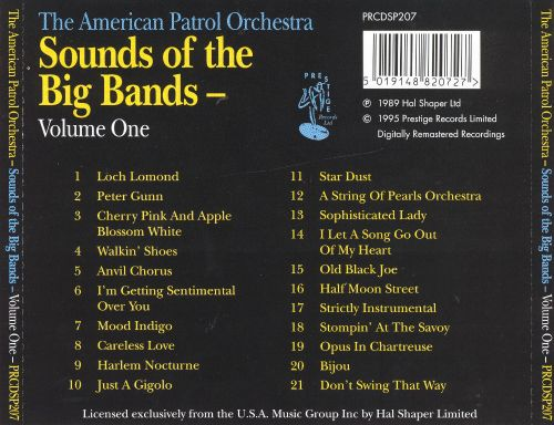 Sound of the Big Bands, Vol. 1