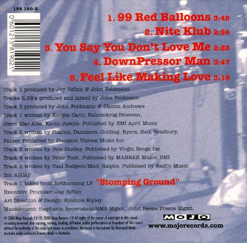 99 Red Balloons [5 Tracks]
