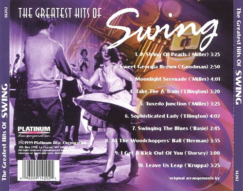 Greatest Hits of Swing, Vol. 1