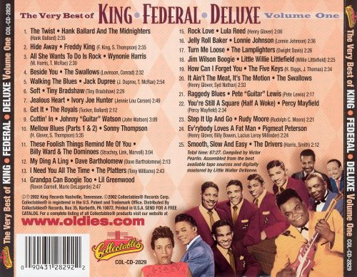 The Very Best of the King/Federal/Deluxe Years, Vol. 1