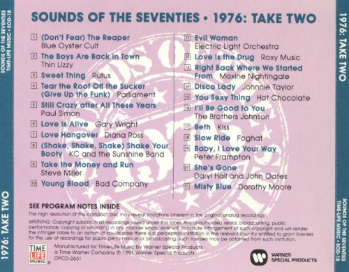 Sounds of the Seventies: 1976 - Take Two