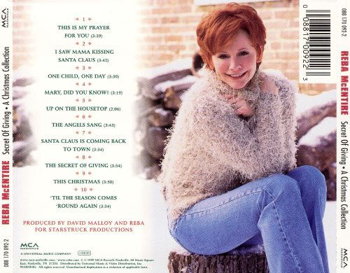 The Secret of Giving: A Christmas Collection - Reba McEntire ...