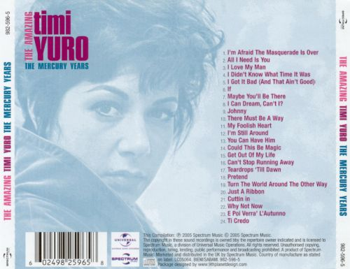 Amazing Timi Yuro: The Mercury Years