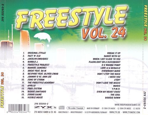 Freestyle, Vol. 24
