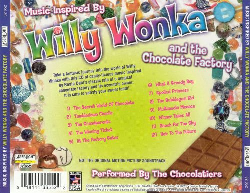Music Inspired by Willy Wonka and the Chocolate Factory