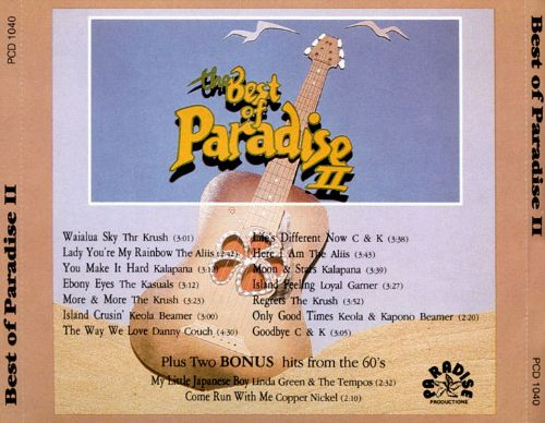 The Best of Paradise, Vol. 2