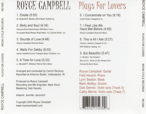 Plays for Lovers