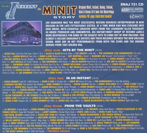 The Instant and Minit Story (The Definitive History - From the Golden Age of New Orleans R&B)