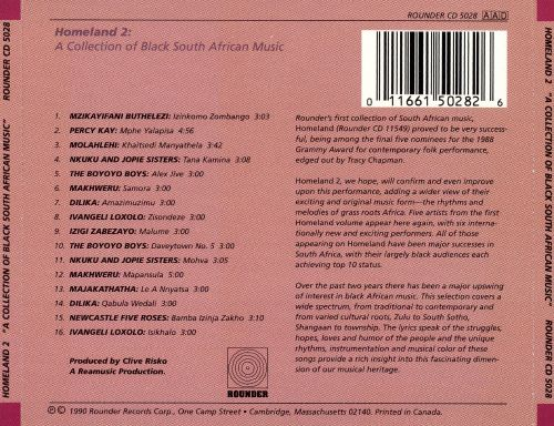 Homeland, Vol. 2: Collection of Black South African Music