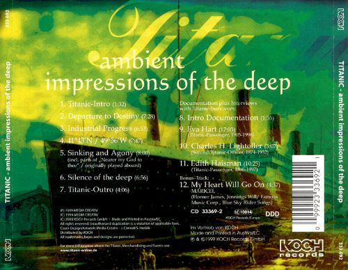Titanic: Ambient Impressions of the Deep