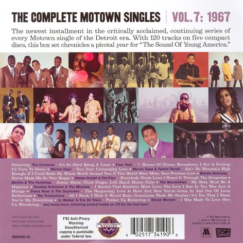 The Complete Motown Singles, Vol. 7: 1967