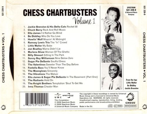 Chess Chartbusters, Vol. 1