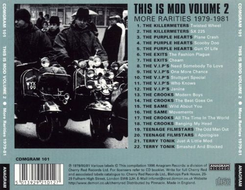 This Is Mod, Vol. 2: More Rarities 1979-1981