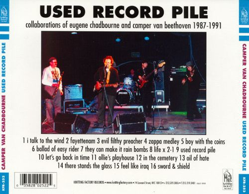 Used Record Pile