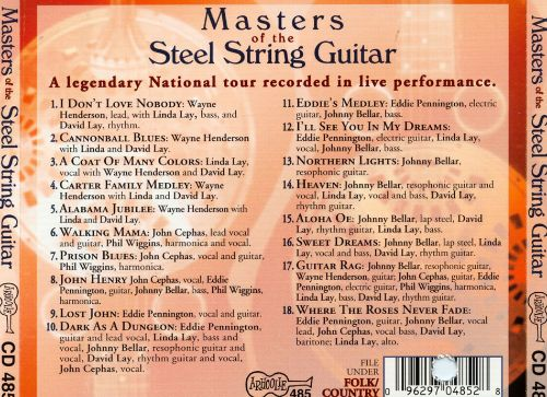 Masters of the Steel String Guitar