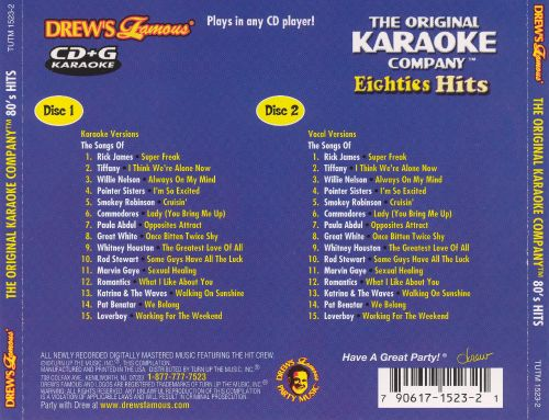 80s songs for karaoke