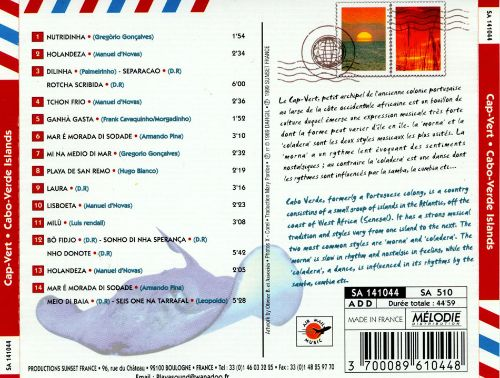 Air Mail Music: Cabo Verde Islands