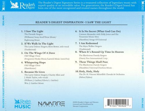I Saw the Light [Readers Digest]