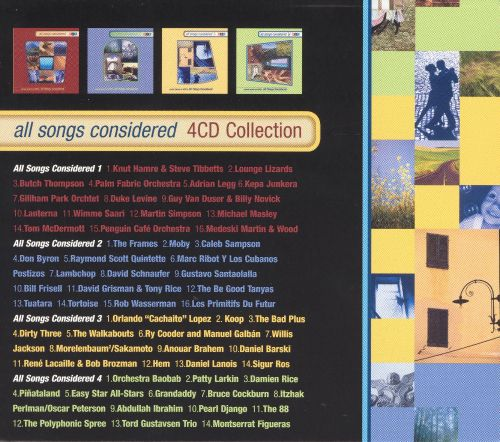 All Songs Considered: 4 CD Collection