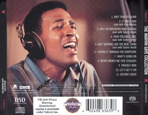 Marvin gaye special collection