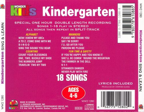 Kindergarten Sing & Learn