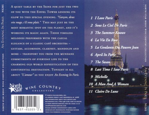 Wine Country Collection: Evening in Paris