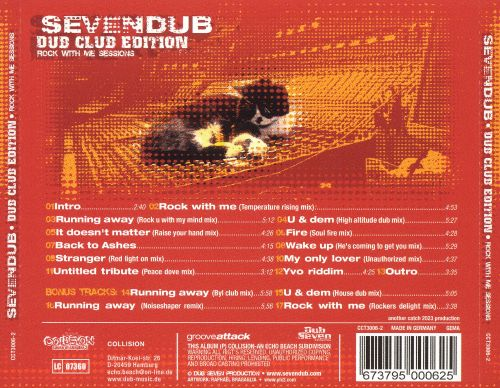 Dub Club Edition: Rock with Me Sessions