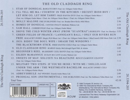 Have a Drink..., Vol. 3: The Old Claddagh Ring