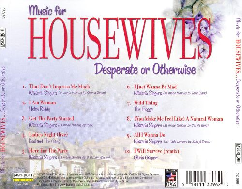 Music for Housewives: Desperate or Otherwise [Laserlight]