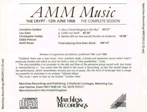 The Crypt: 12th June 1968, The Complete Session