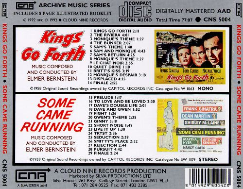 Sinatra Soundtracks: Kings Go Forth/Some Came Running