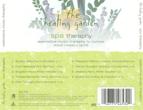 The Healing Garden: Spa Therapy