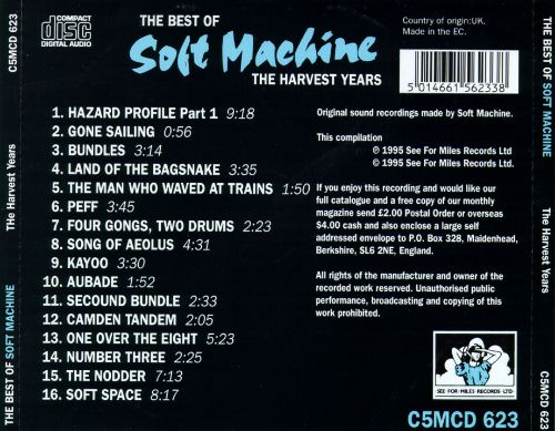 The Best of Soft Machine: The Harvest Years