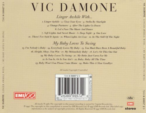 Linger Awhile with Vic Damone/My Baby Loves to Swing