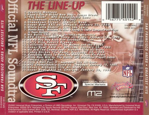 San Francisco 49ers: Greatest Hits, Vol. 1