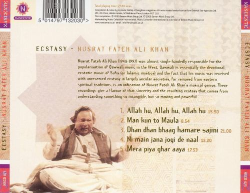 Ecstasy: An Essential Selection from the Genius of Qawwali
