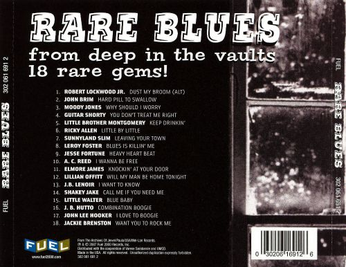 Rare Blues from Deep in the Vaults