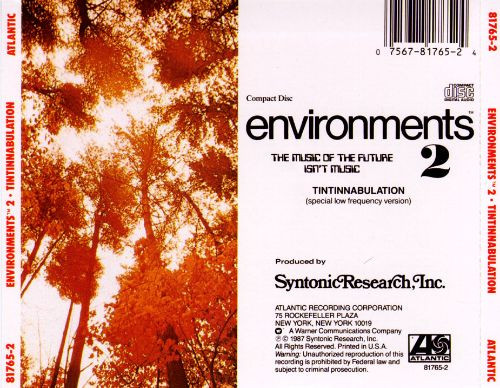 Environments 2: Tintinnabulation (Synthesized Bell Tones)