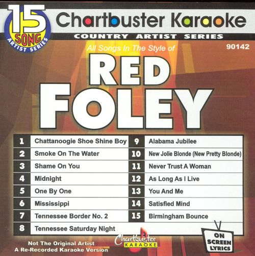 Chartbuster Karaoke: Red Foley